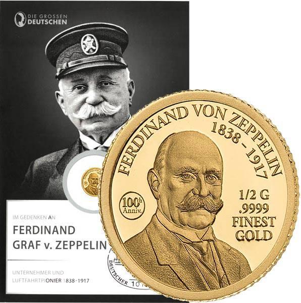 10 Dollars Salomonen Ferdinand Zeppelin 2017