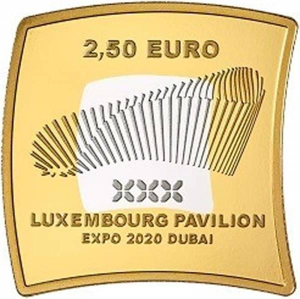 2,5 Euro Luxemburg EXPO Dubai 2020 PP