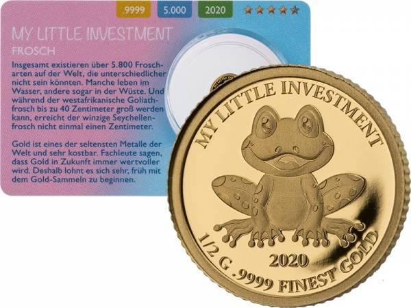 10 Dollars Salomonen My little Investment Frosch 2020