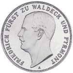5 Mark Waldeck-Pyrmont Friedrich 1903 Vorzüglich