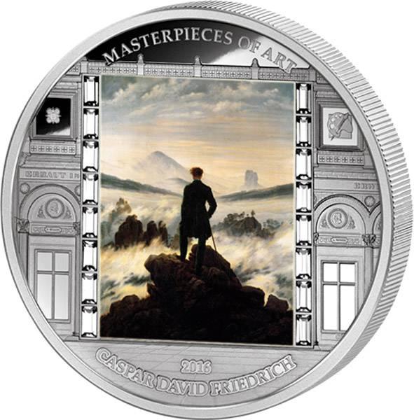 20 Dollars Cook-Inseln Caspar David Friedrich - Der Wanderer