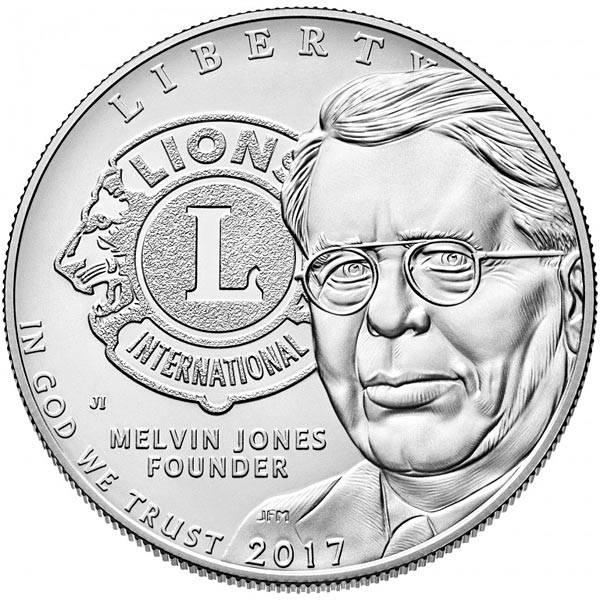 1 Dollar USA 100 Jahre Lions Club 2017