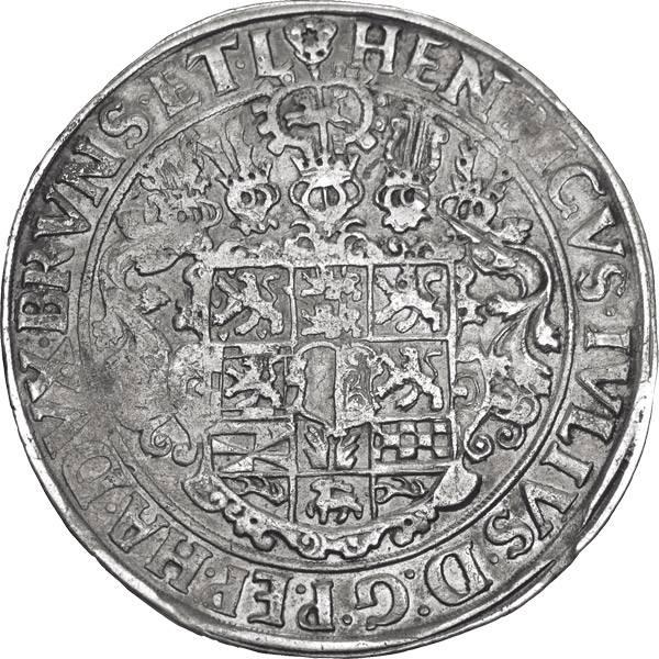 Taler Braunschweig-Wolfenbüttel Wilder Mann 1600-1613 Sehr schön