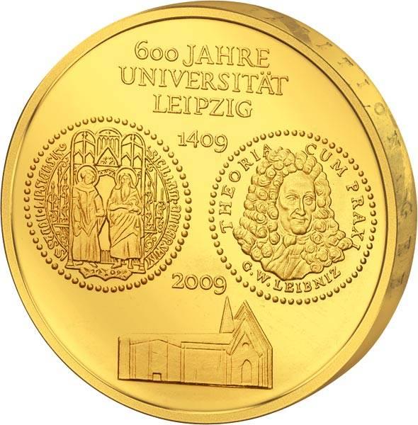 10 Euro BRD 600 Jahre Universität Leipzig 2009