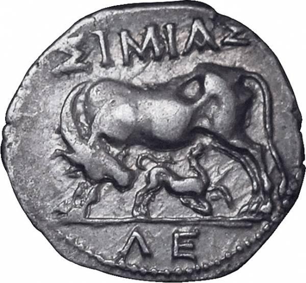 Drachme Illyria Apollonia