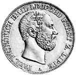 Vereinstaler Paul Friedrich Emil Leopold 1860-1866 ss-vz