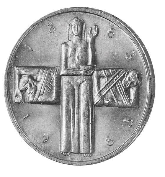 5 Franken Schweiz Rotes Kreuz 1963