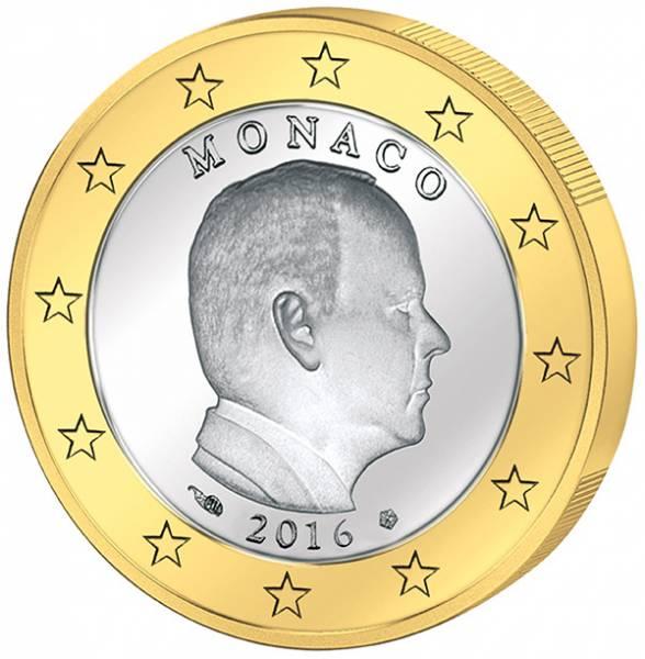 1 Euro Monaco Albert II.