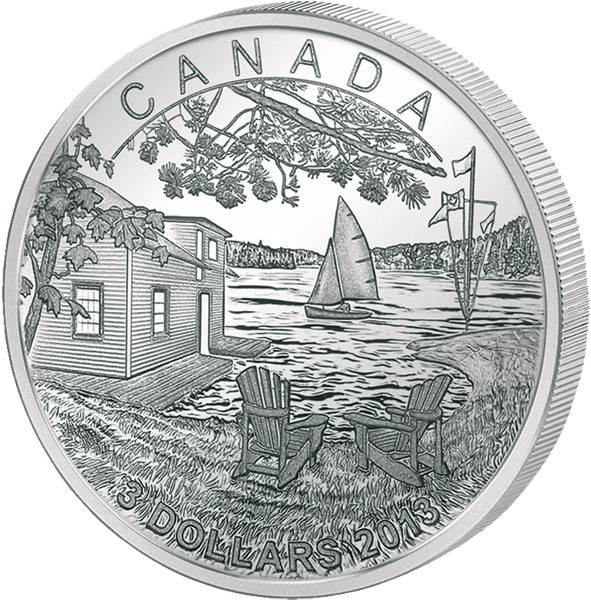 3 Dollars Kanada Martin Short 2013 PP
