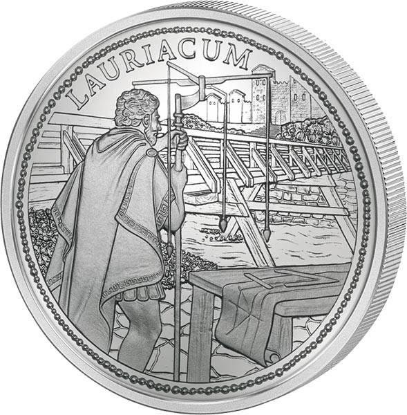 20 Euro Österreich Lauriacum Rom an der Donau 2012