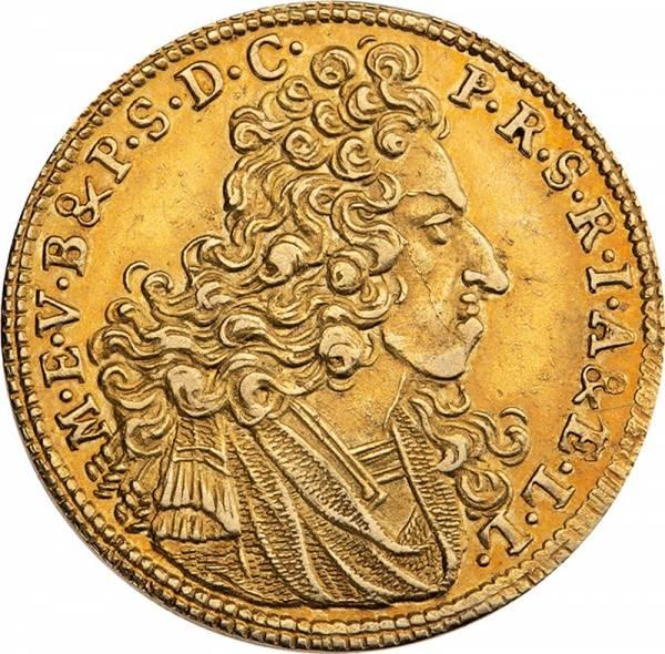Goldgulden Bayern Kurfürst Maximilian II. Emanuel 1703