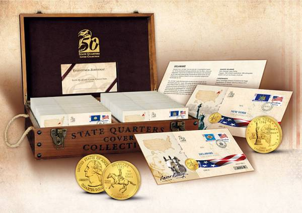 State Quaters Cover Collection