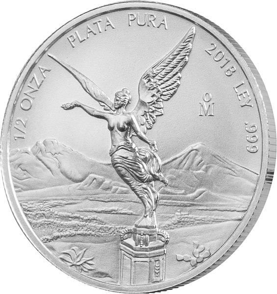 1/2 Unze Silber Mexiko Libertad 2018