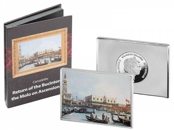 1/2 Dollar Salomonen Canaletto Der Bucintoro in Venedig 2016