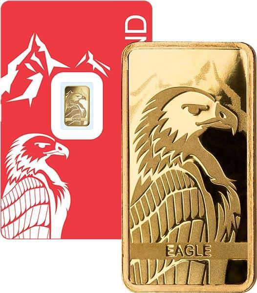 1 Gramm Goldbarren Schweiz Steinadler