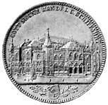 Taler Handel und Schiffahrt 1864 vorzüglich