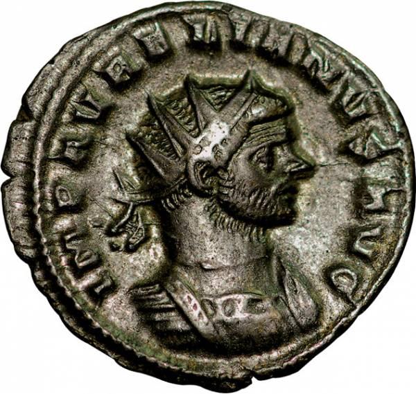Antoninian Rom Kaiser Aurelianus 270-275 n. Chr. Römisches Kaiserreich ss-vz