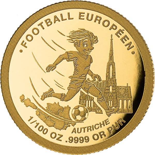1.500 Francs Togo Fußball-EM Österreich 2021