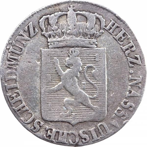 6 Kreuzer Nassau Herzog Wilhelm 1817-1819