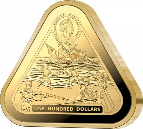 100 Dollars Australien Batavia 2019