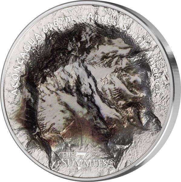 25 Dollars Cook-Inseln Seven Summits Mount Aconcagua 2018