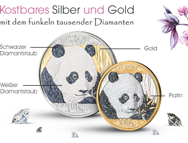 Kostbares Silber und Gold