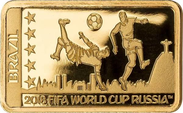 10 Dollars Salomonen Rekord-Weltmeister Brasilien 2018