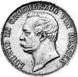 Taler Vereinstaler Ludwig III. 1857-1871 ss-vz