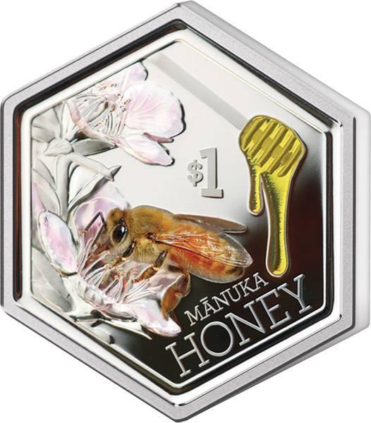 1 Dollar Neuseeland Manuka-Honig 2018