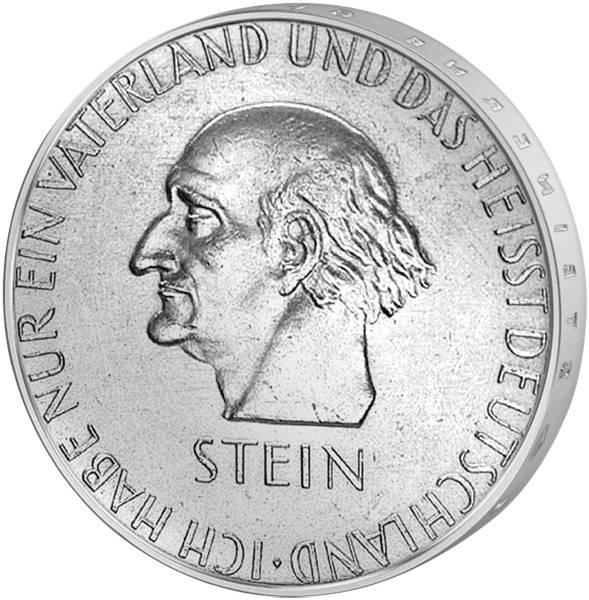 3 Mark Weimarer Republik Stein 1931 Vorzüglich