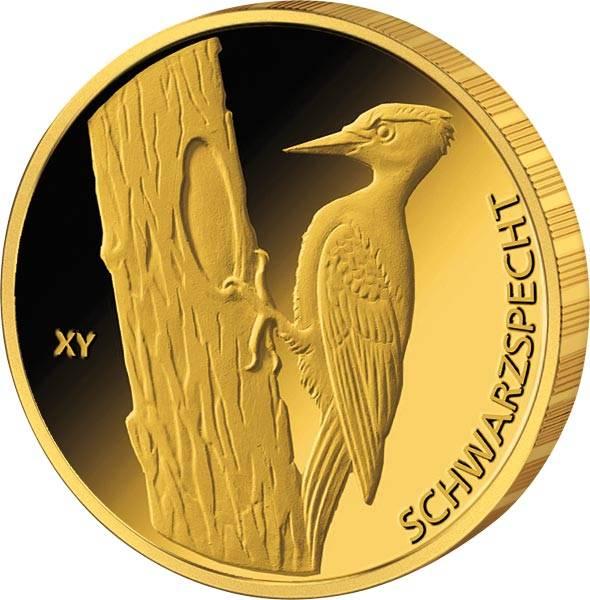 20 Euro BRD Schwarzspecht Gold 2021