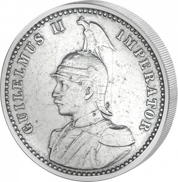 1/2 Rupie Silber Deutsch-Ostafrika Wilhelm II. 1904-1914 Sehr schön-vorzüglich