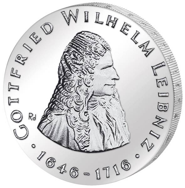 20 Mark DDR Gottfried Wilhelm Leibniz 1966