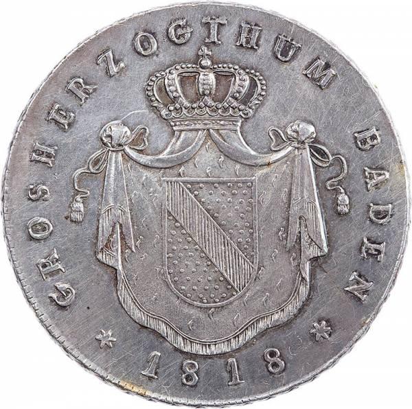Kronentaler Baden Großherzog Karl Ludwig Friedrich 1814 - 1819
