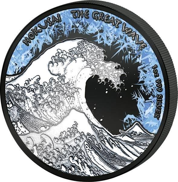 1 Dollar Fidschi Deep Frozen Edition Welle 2018