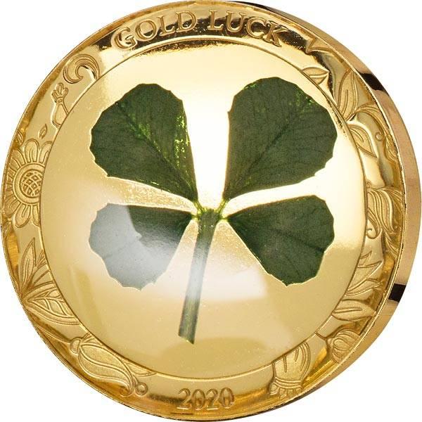 1 Dollar Palau Kleeblatt Viel Glück 2020