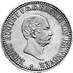 Taler König Ernst August 1838  ss-vz