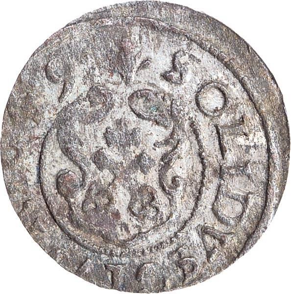 Schilling Riga Königin Christina v. Schweden 1632-1654
