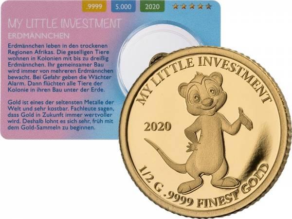10 Dollar Salomonen My little Investment Erdmännchen 2020