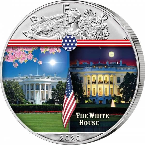 1 Dollar USA White House 2020