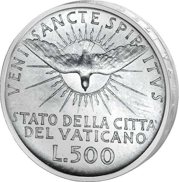 500 Lire Vatikan Sede Vacante