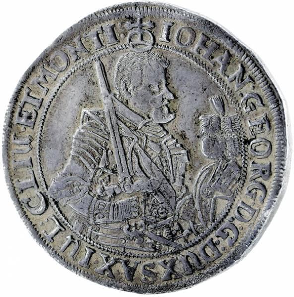 Taler Sachsen Johann Georg I. 1616-1656