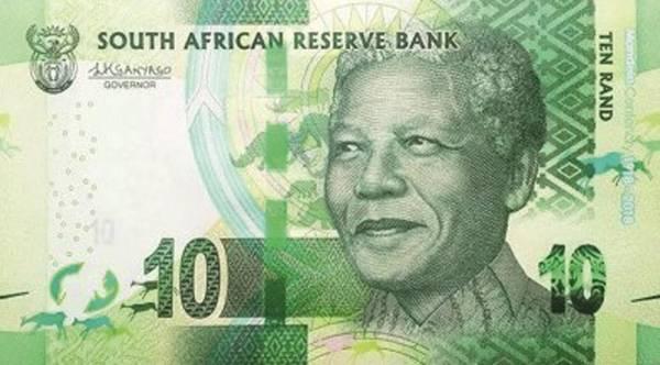 10 Rand Südafrika Banknote Nelson Mandela 2013-2016