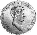 Taler Konventionstaler Friedrich Wilhelm 1809 ss-vz