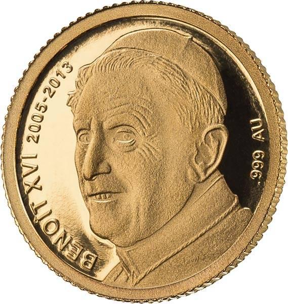 100 Francs Elfenbeinküste Papst Benedikt XVI 2014