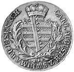 Taler Konventionstaler Carl August 1813 Vorzüglich
