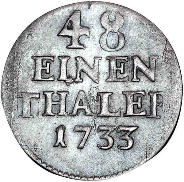 1/48 Taler Brandenburg-Preußen König Friedrich Wilhelm I.