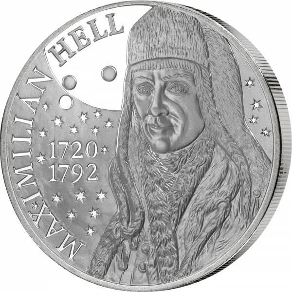 10 Euro Slowakei 300. Geburstag Astronom Maximilian Hell 2020
