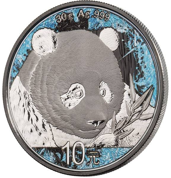 10 Yuan China Deep Frozen Edition Panda 2018