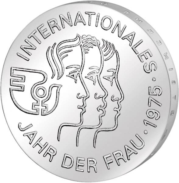 5 Mark DDR Internationales Jahr der Frau 1975